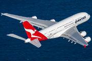 VH-OQC - QANTAS Airbus A380 aircraft