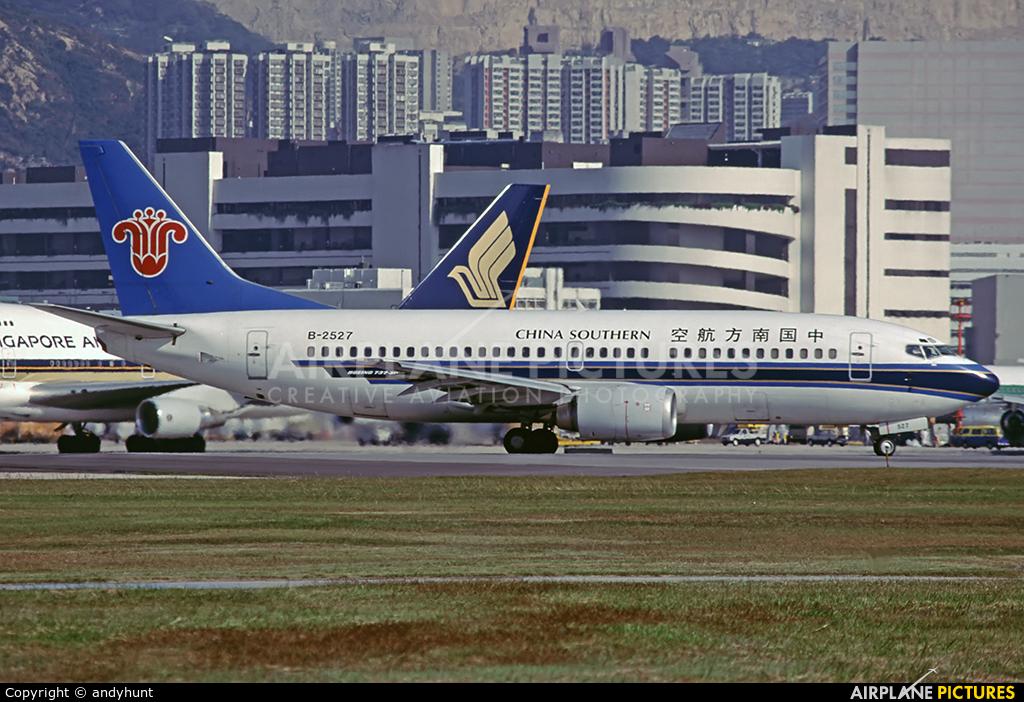 China Southern Airlines B-2527 aircraft at HKG - Kai Tak Intl CLOSED