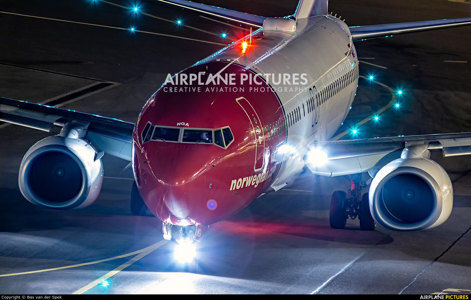 Norwegian Air Shuttle LN-NGA aircraft at Amsterdam - Schiphol