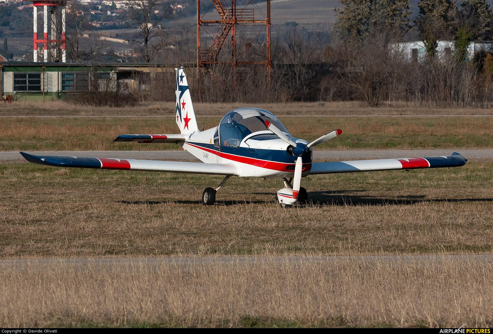 Private I-6491 aircraft at Verona - Boscomantico
