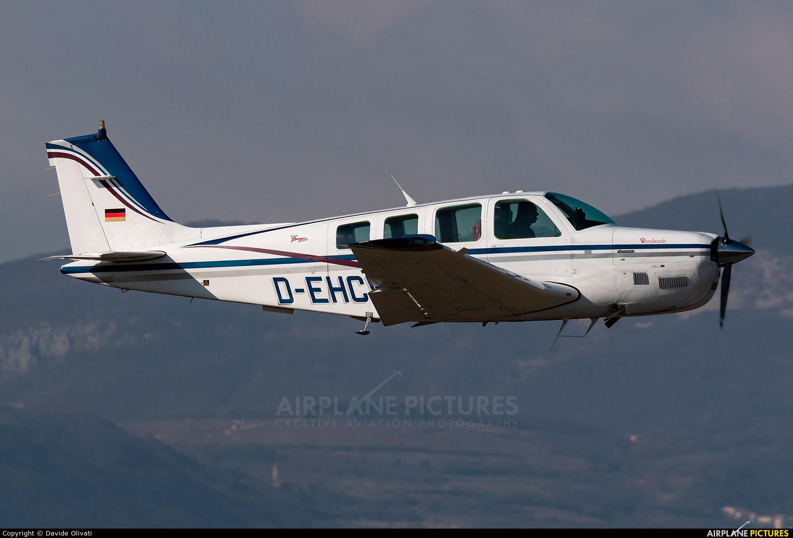 Private D-EHCW aircraft at Verona - Boscomantico