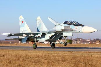 77 - Russia - Air Force Sukhoi Su-30SM