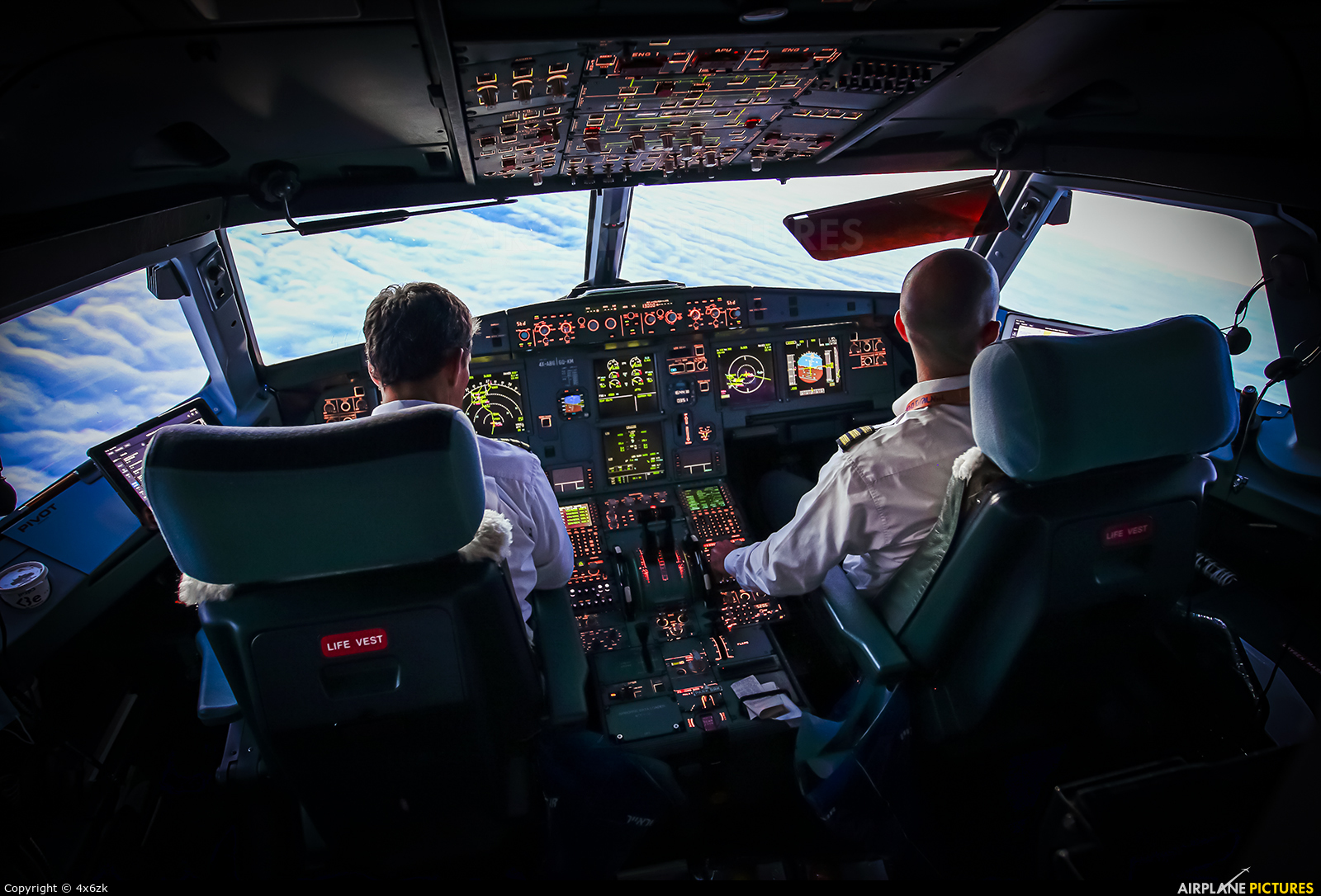 Israir Airlines 4X-ABG aircraft at In Flight - International