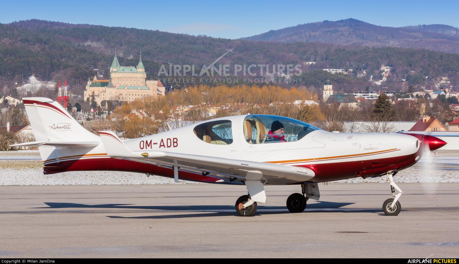 Aerospool OM-ADB aircraft at Prievidza