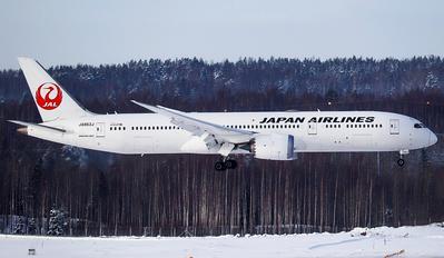 JA868J - JAL - Japan Airlines Boeing 787-9 Dreamliner