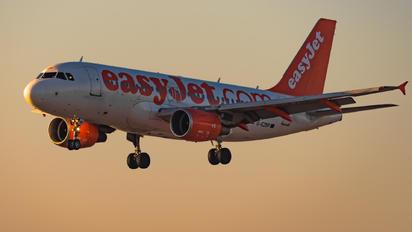 G-EZBP - easyJet Airbus A319