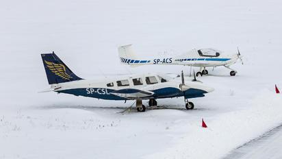 SP-CSL - Goldwings Flight Academy Piper PA-34 Seneca