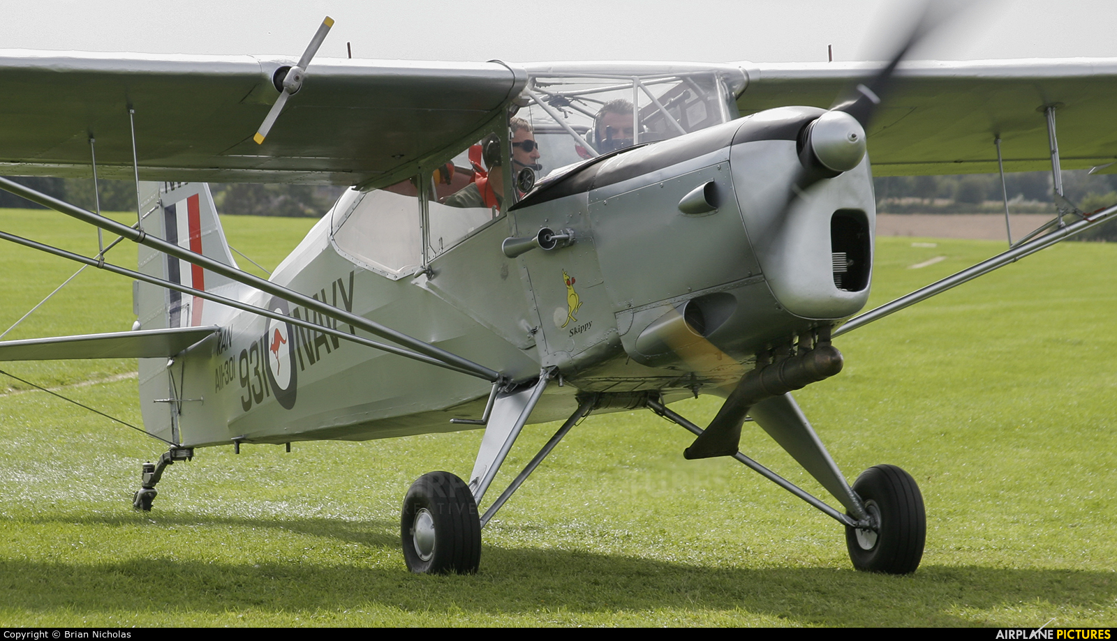 Private G-ARKG aircraft at Northampton / Sywell