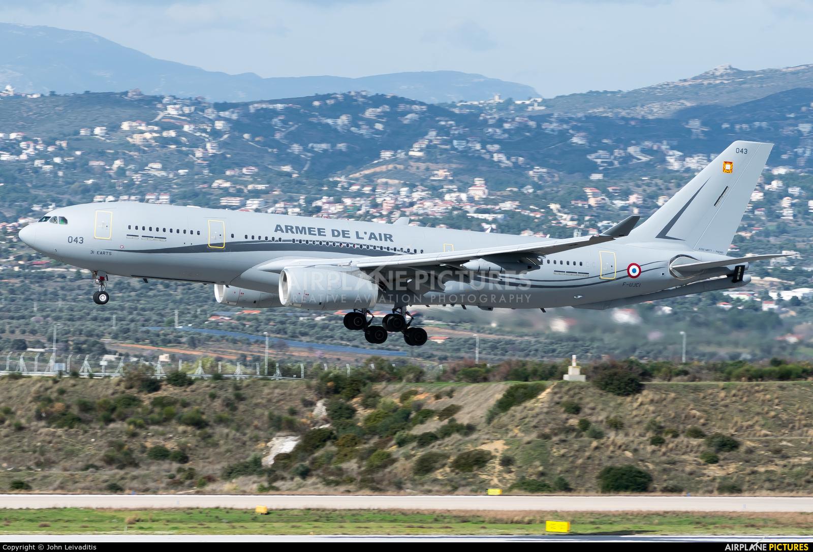 France - Air Force F-UJCI aircraft at Athens - Eleftherios Venizelos