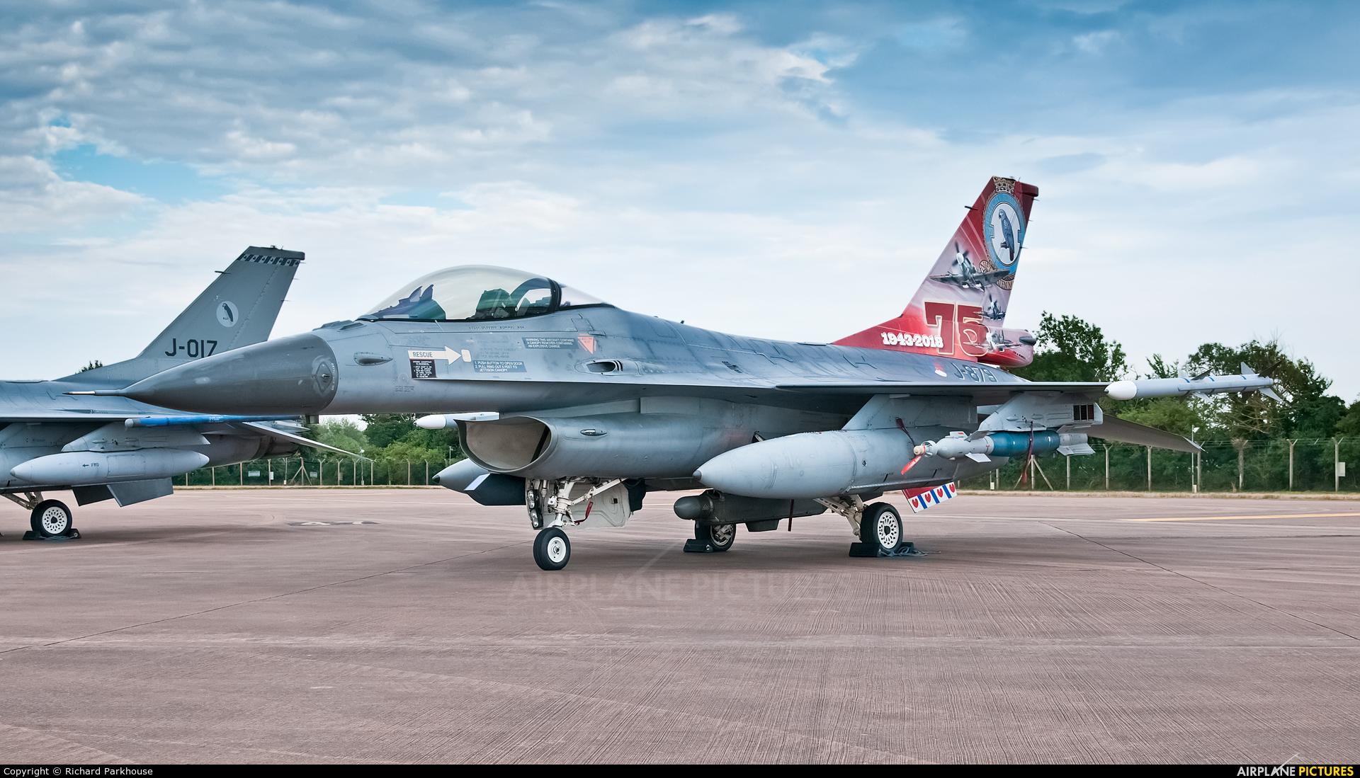 Netherlands - Air Force J-879 aircraft at Fairford