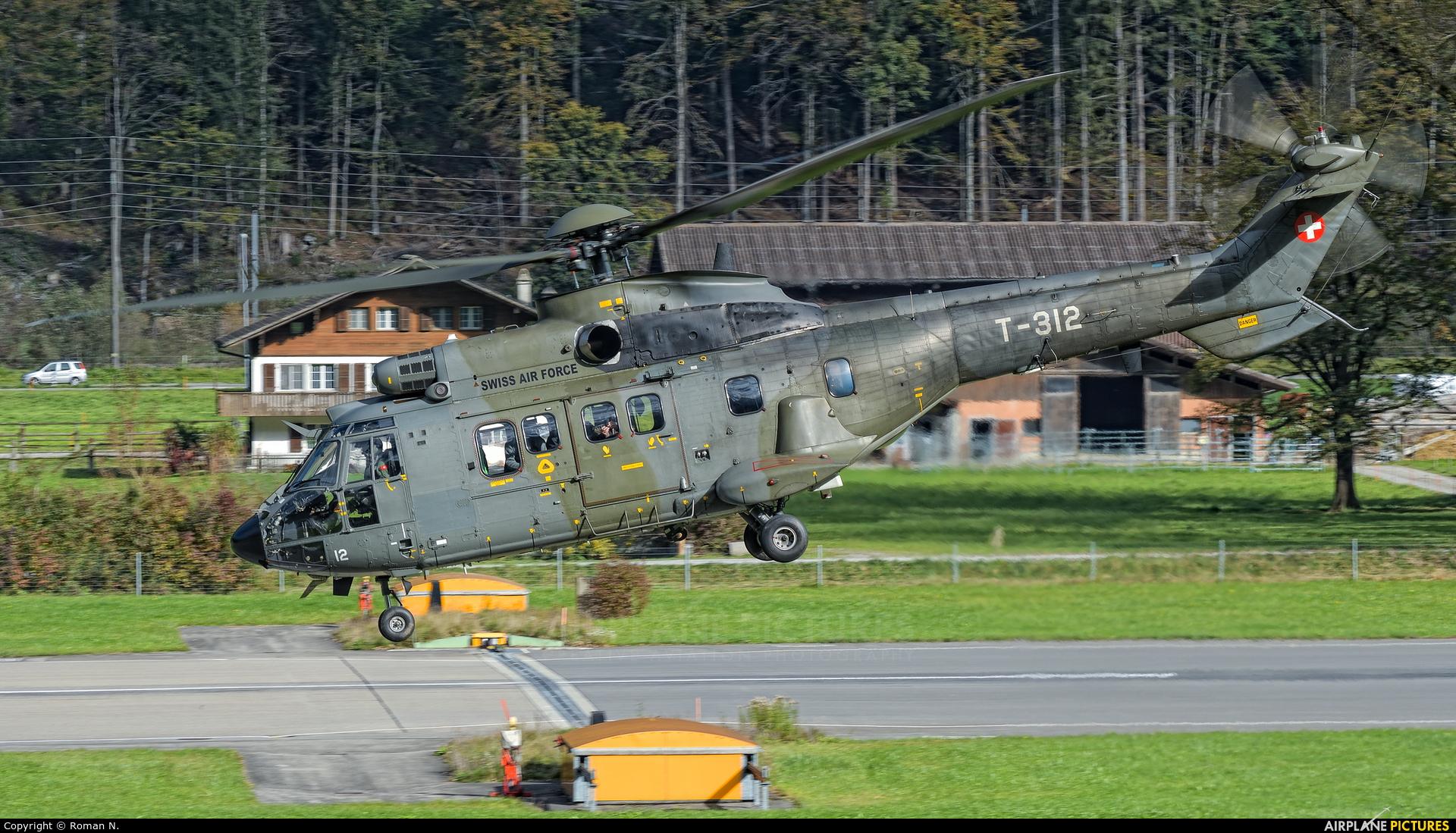 Switzerland - Air Force T-312 aircraft at Meiringen
