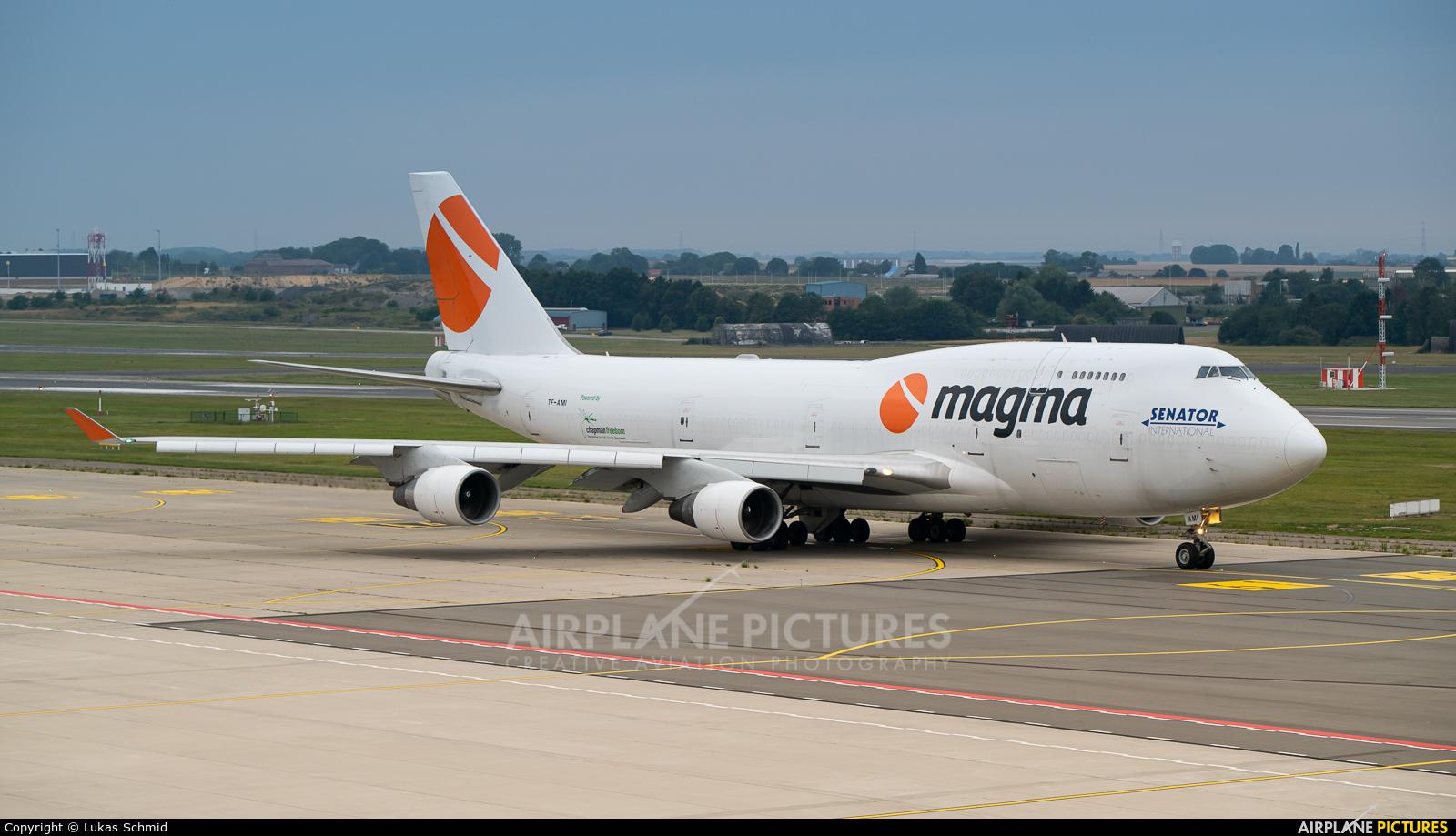 Magma Aviation TF-AMI aircraft at Liège-Bierset