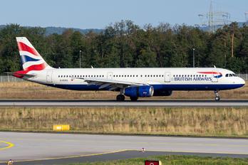 G-EUXG - British Airways Airbus A321