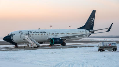 EI-GIM - Blue Panorama Airlines Boeing 737-800