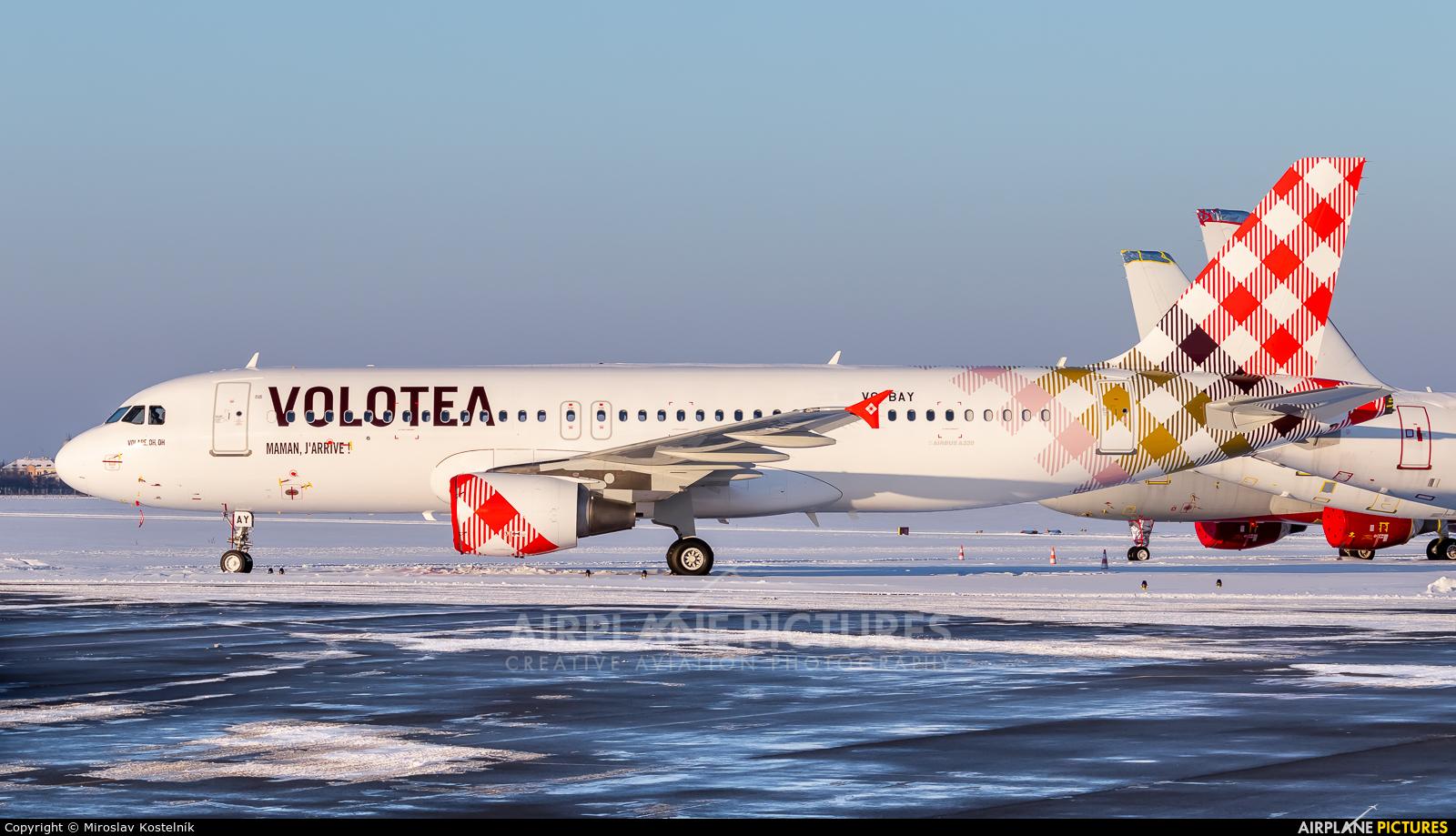 Volotea Airlines VQ-BAY aircraft at Ostrava Mošnov