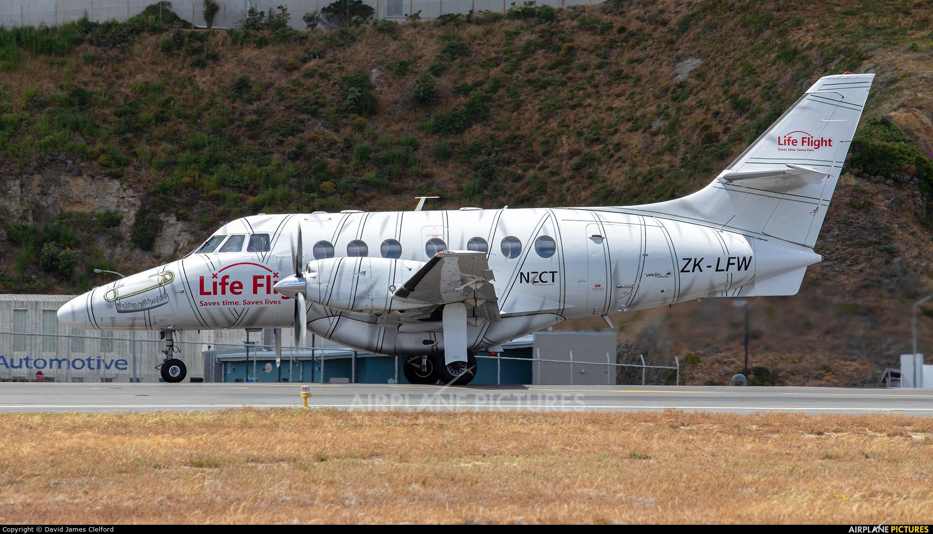 Vincent Aviation ZK-LFW aircraft at Wellington Intl