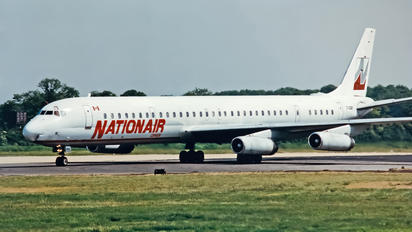 C-GQBF - Nationair Douglas DC-8-63