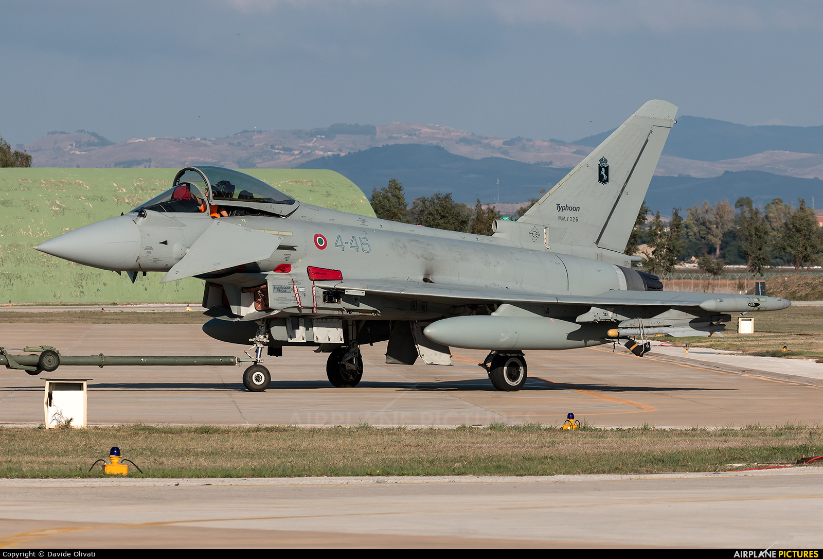 Italy - Air Force MM7326 aircraft at Trapani - Birgi