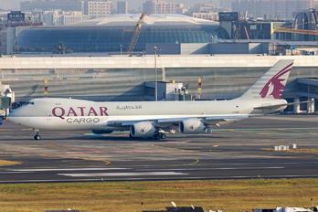 A7-BGB - Qatar Airways Cargo Boeing 747-8F