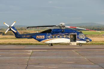 LN-OEC - Norsk Helikopterservice Sikorsky S-92