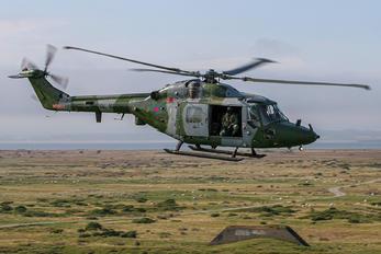 XZ612 - Royal Navy: Royal Marines Westland Lynx AH.7