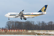 9V-SFQ - Singapore Airlines Boeing 747-400F, ERF aircraft