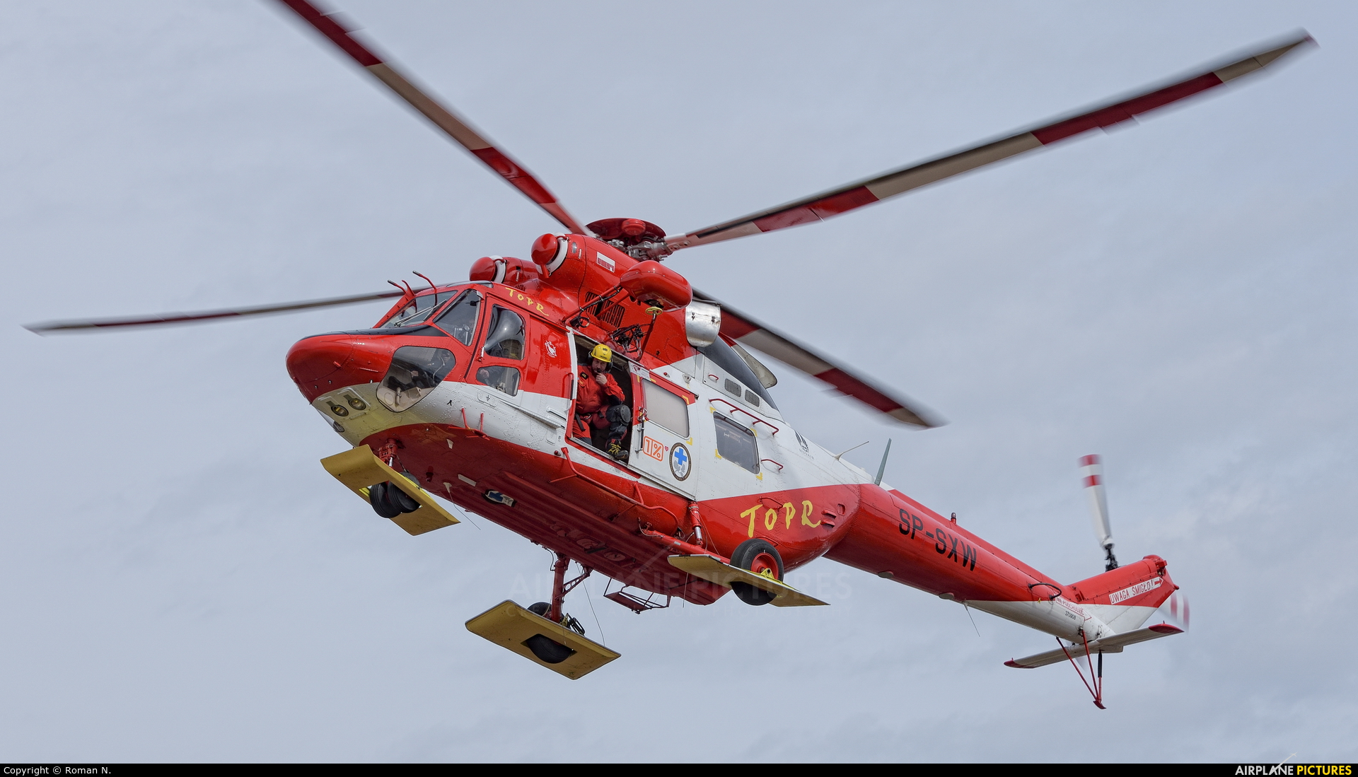 Tatra Mountains Rescue (TOPR) SP-SXW aircraft at Off Airport - Poland