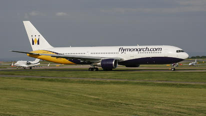 G-DIMB - Monarch Airlines Boeing 767-300ER