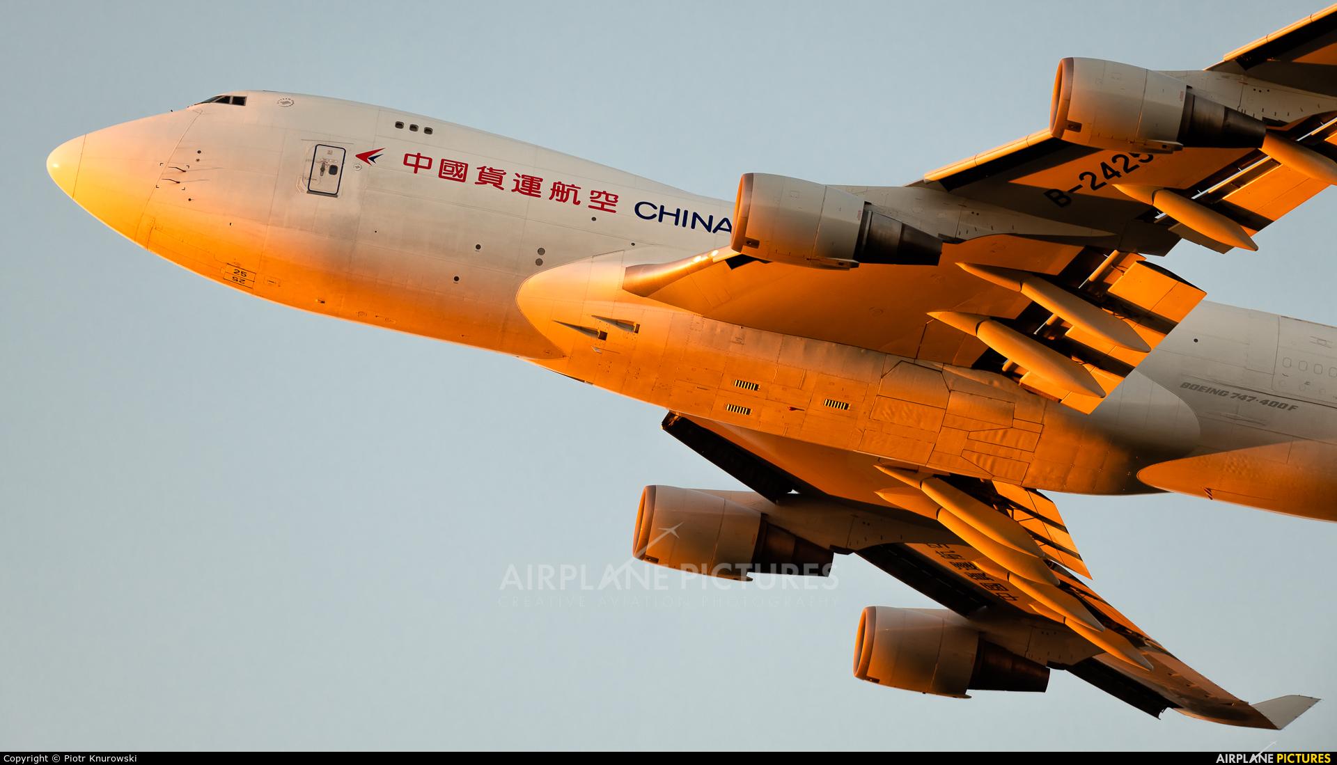 China Cargo B-2425 aircraft at Frankfurt