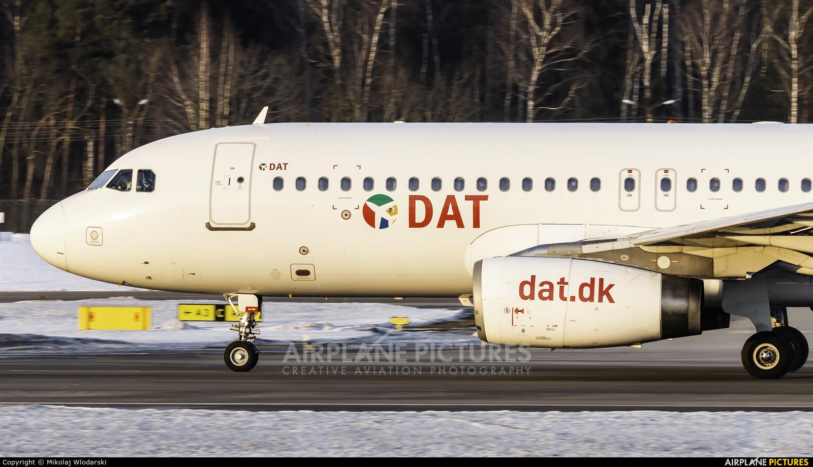 Danish Air Transport OY-RUZ aircraft at Gdańsk - Lech Wałęsa