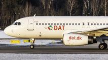 DAT A320 at Gdańsk title=