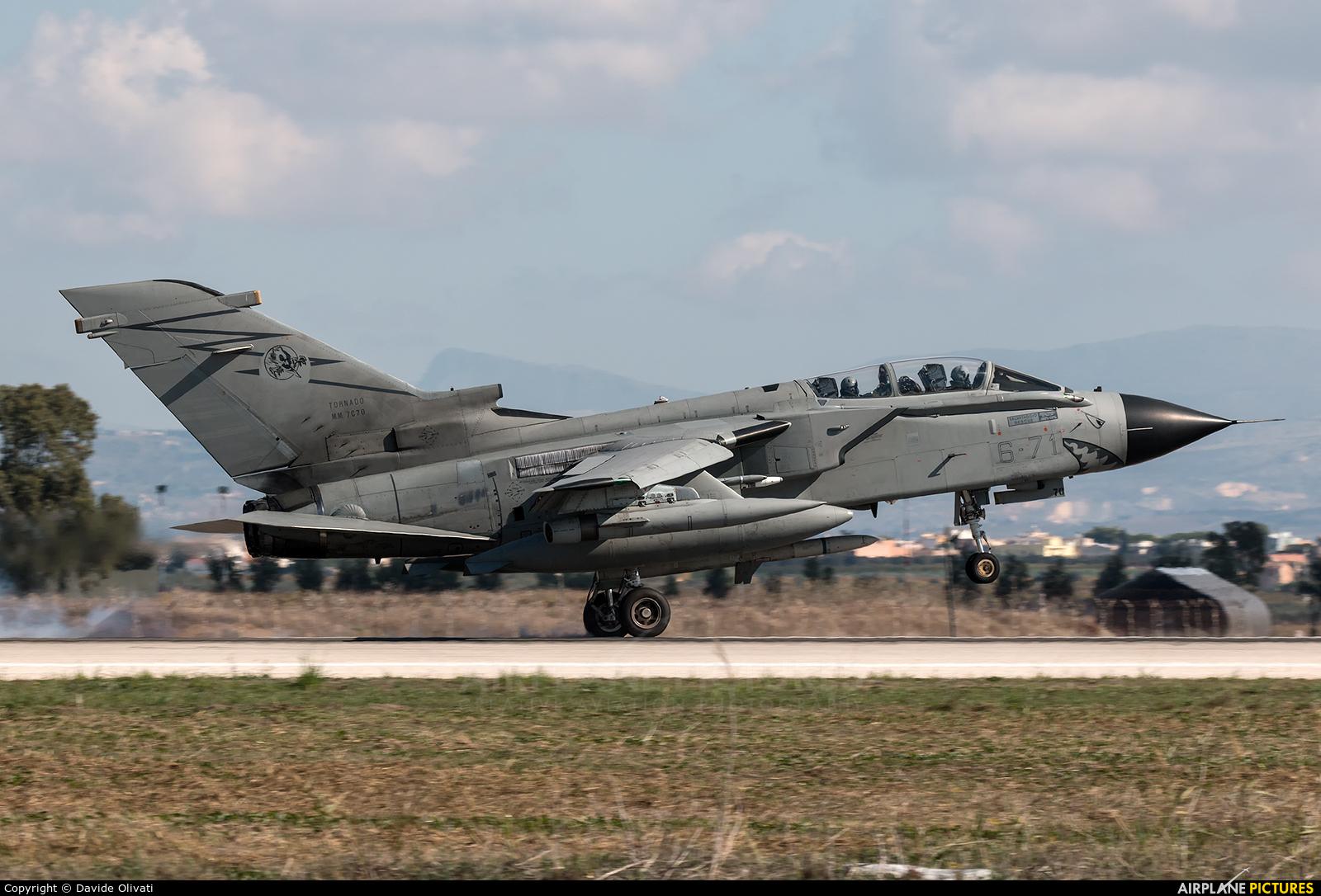Italy - Air Force MM7070 aircraft at Trapani - Birgi