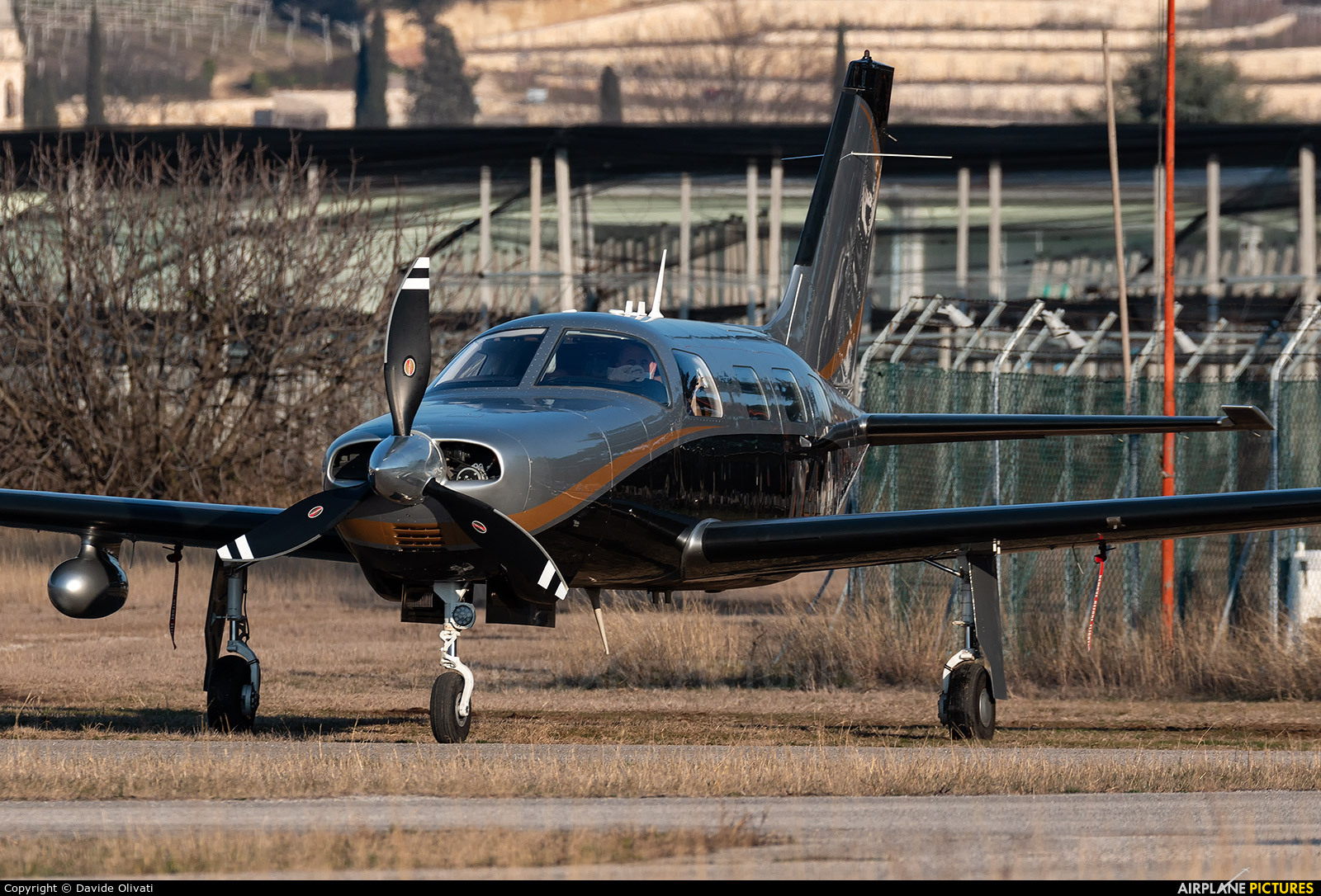Private N4432K aircraft at Verona - Boscomantico