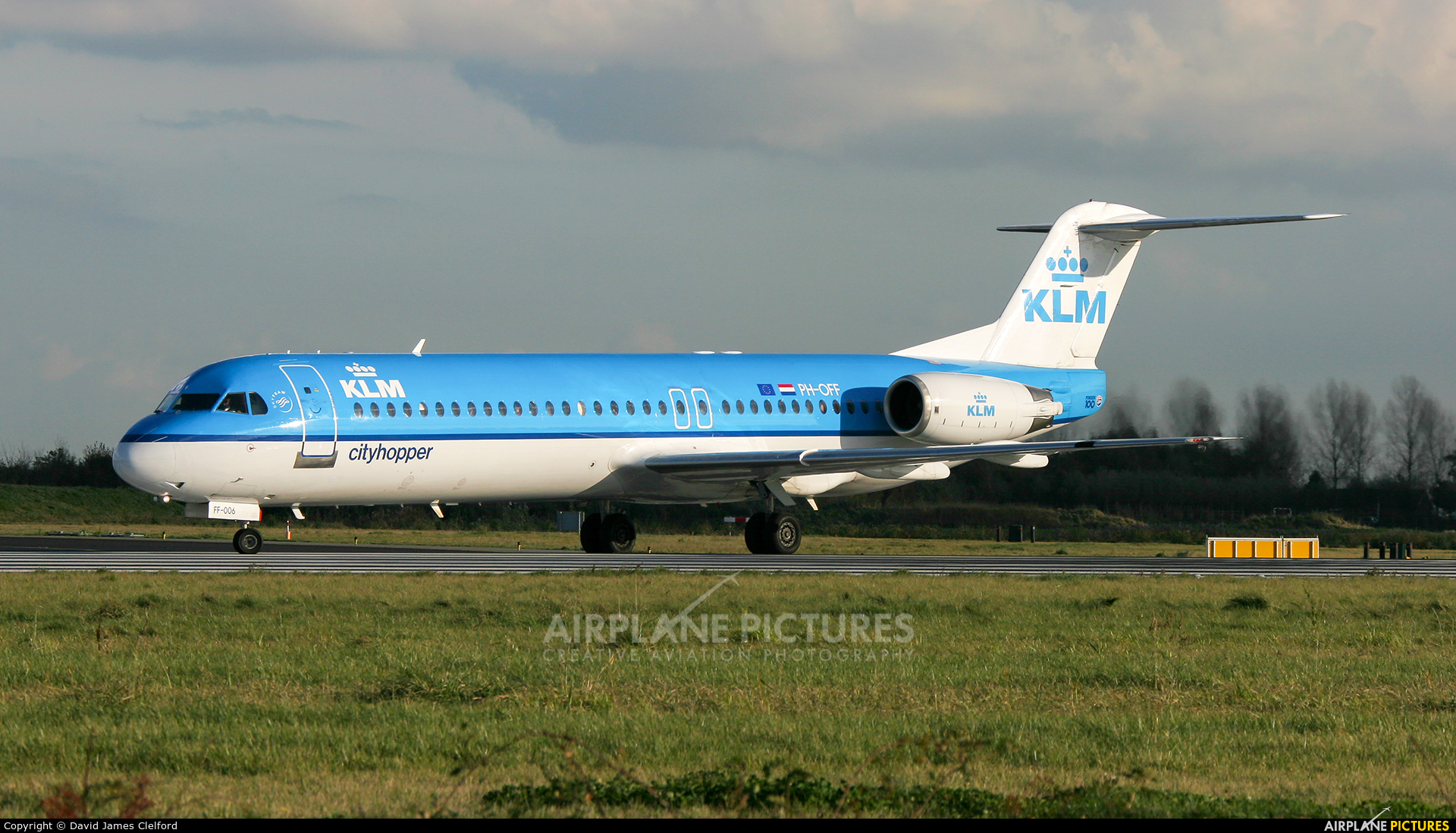 KLM Cityhopper PH-OFF aircraft at Amsterdam - Schiphol