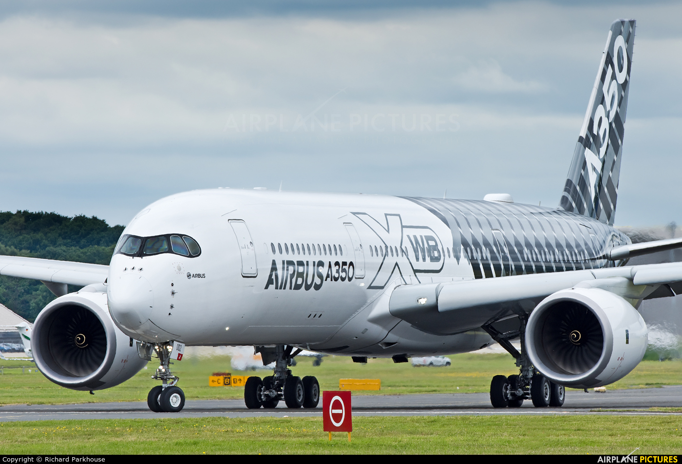 Airbus Industrie F-WWCF aircraft at Farnborough