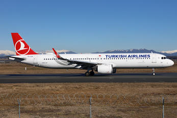 TC-LSA - Turkish Airlines Airbus A321 NEO