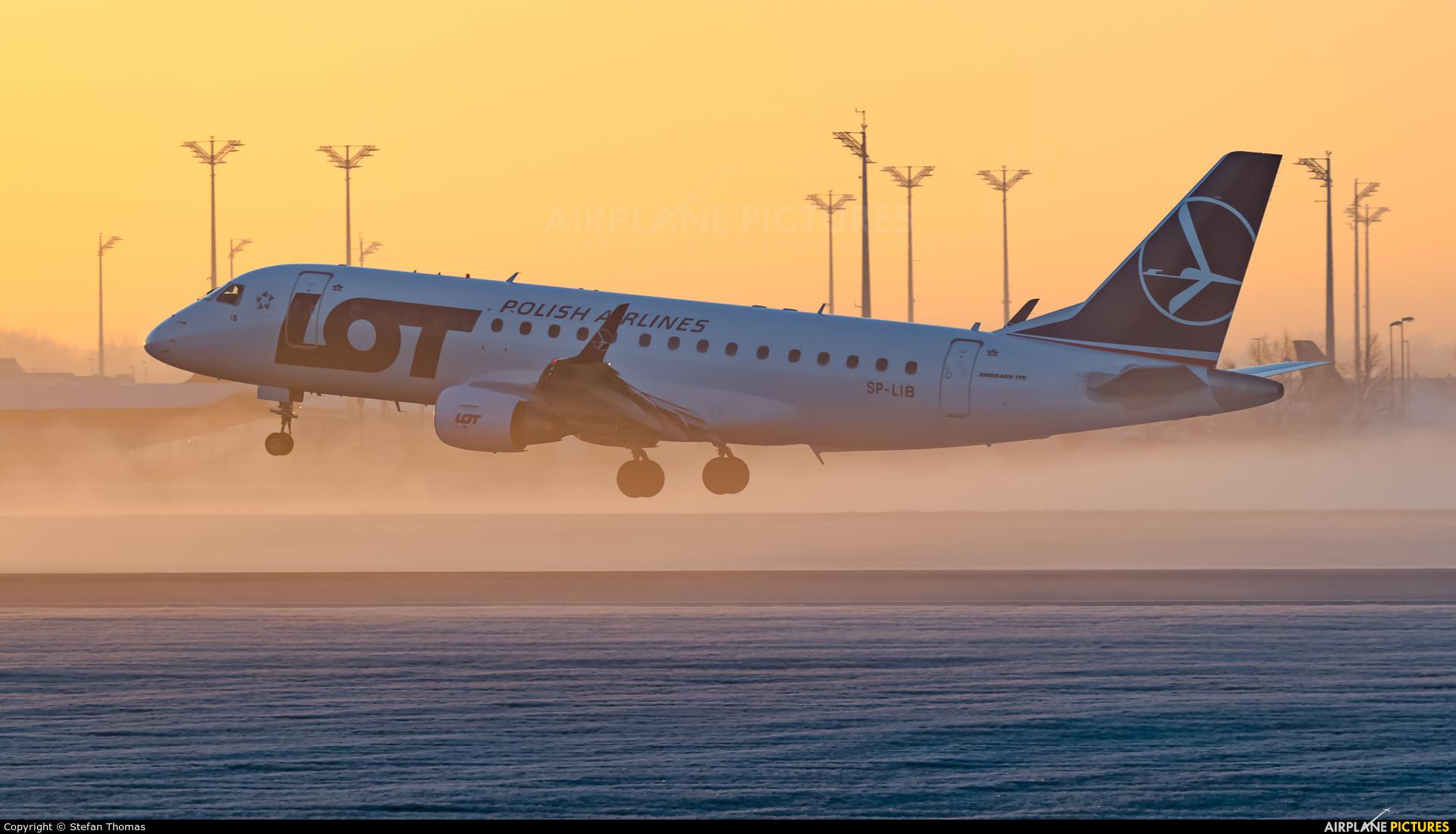 LOT - Polish Airlines SP-LIB aircraft at Munich