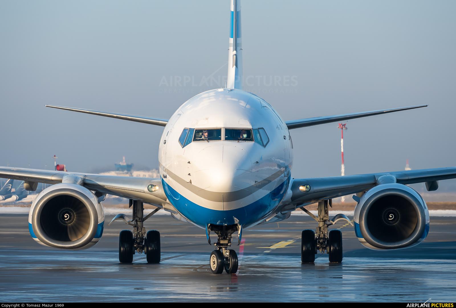 Enter Air SP-ESG aircraft at Katowice - Pyrzowice