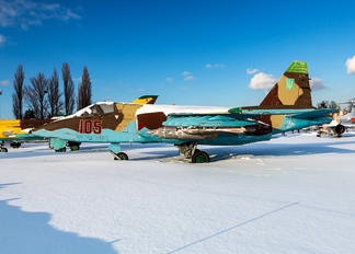 105 - Ukraine - Air Force Sukhoi Su-25