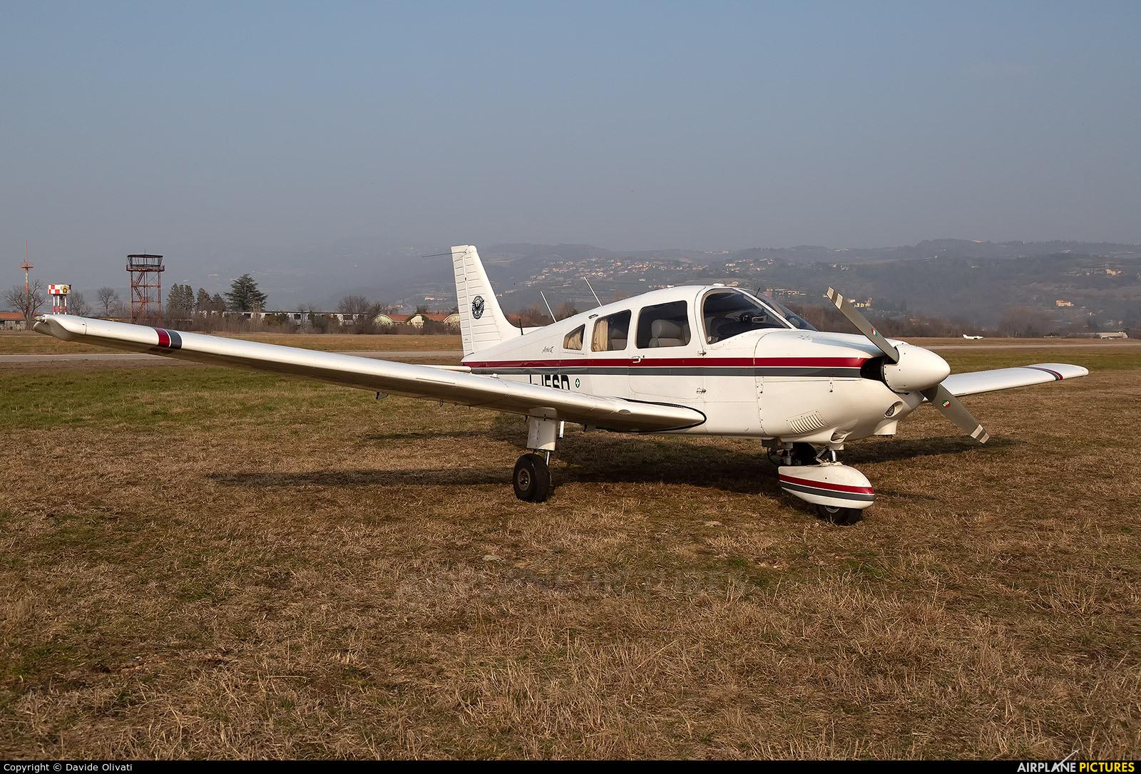 Private I-JESD aircraft at Verona - Boscomantico