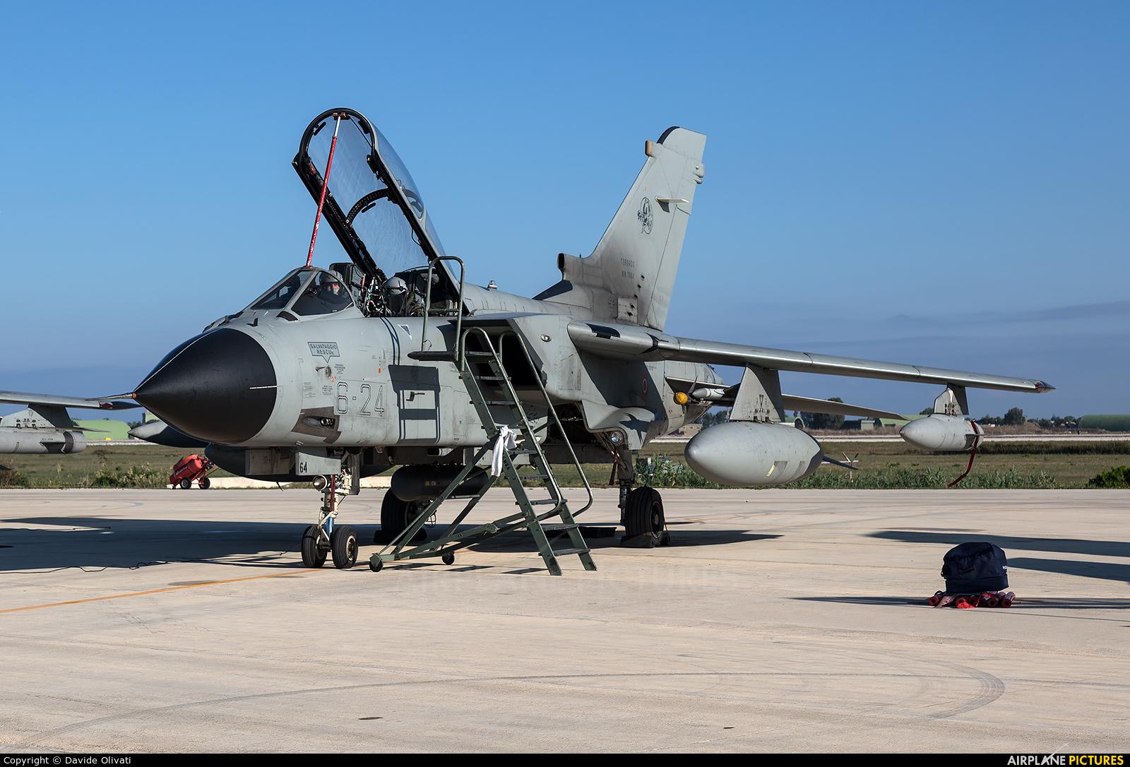 Italy - Air Force MM7064 aircraft at Trapani - Birgi