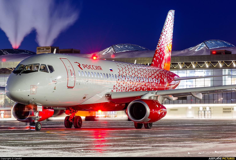 Rossiya RA-89126 aircraft at Moscow - Sheremetyevo
