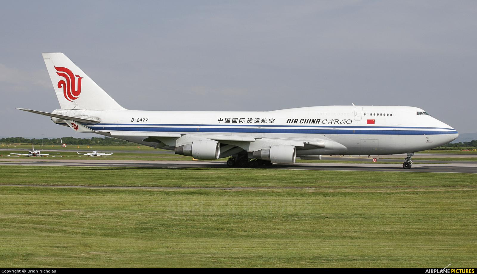 Air China Cargo B-2477 aircraft at Manchester