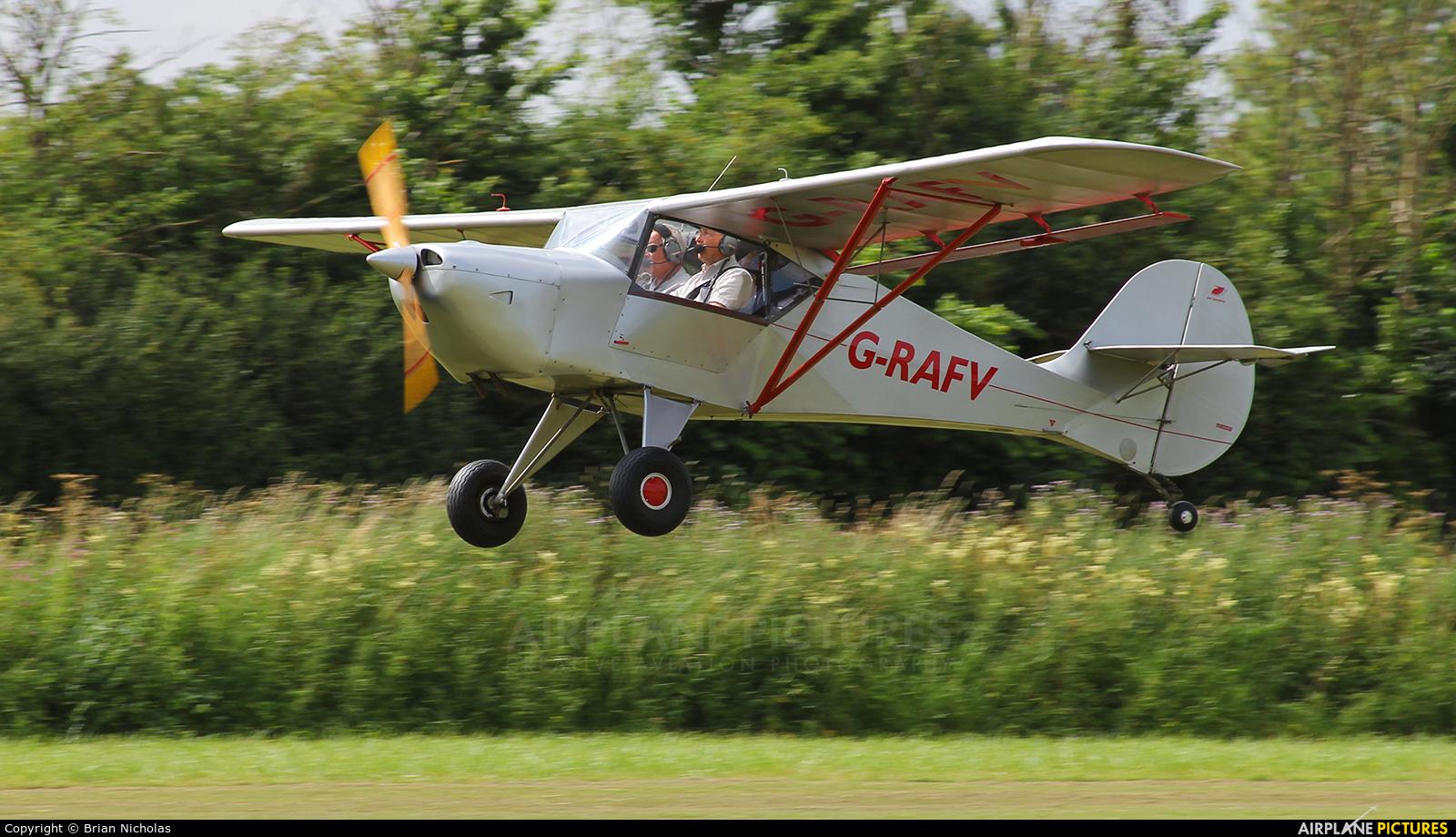 Private G-RAFV aircraft at Stoke Golding