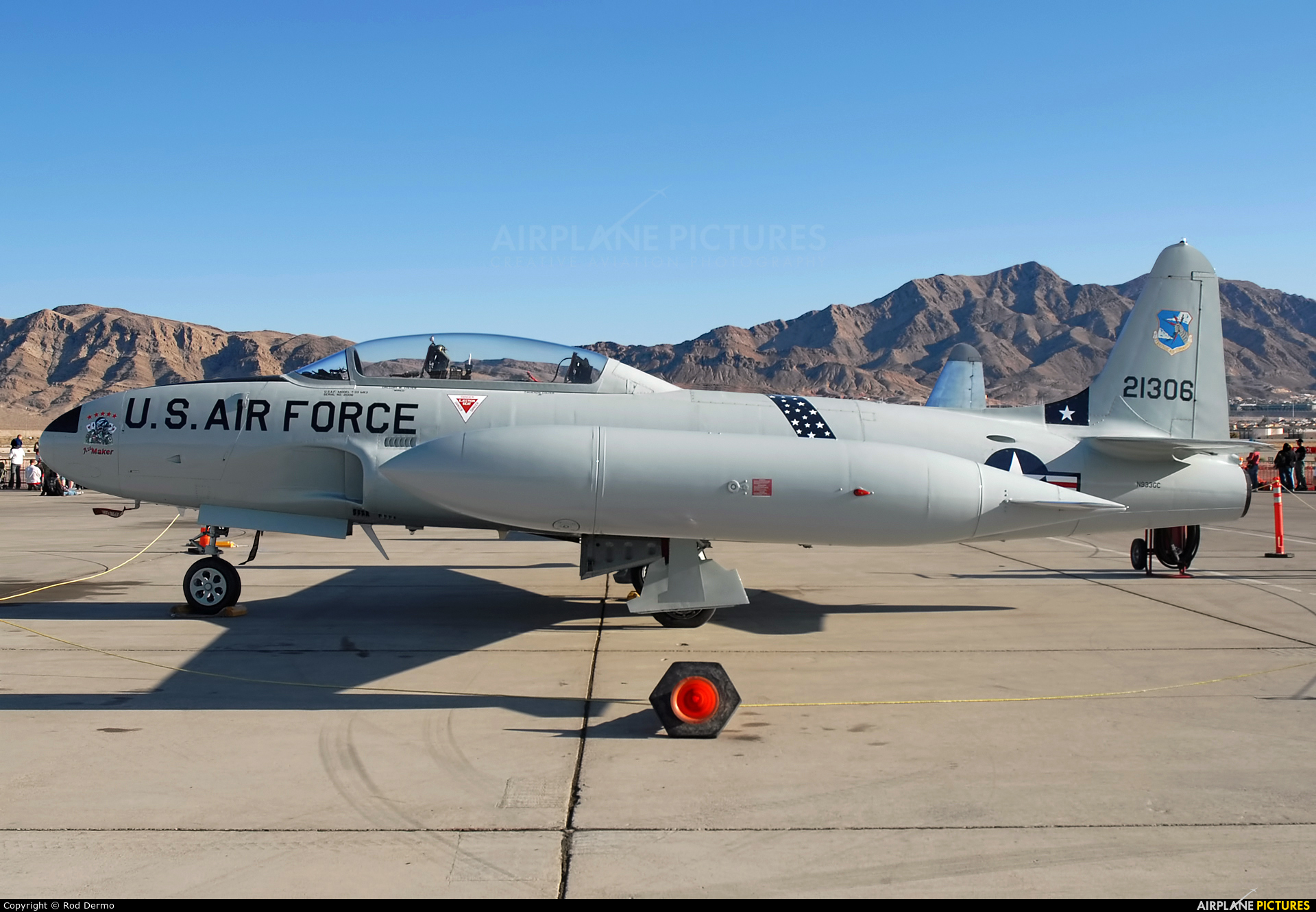 Private N933GC aircraft at Nellis AFB