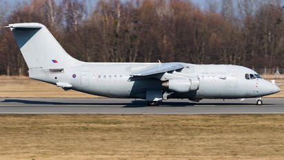 ZE707 - Royal Air Force British Aerospace BAe 146-200/Avro RJ85