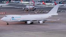 Rare visit of ASL Airlines Belgium 747 to Zurich title=
