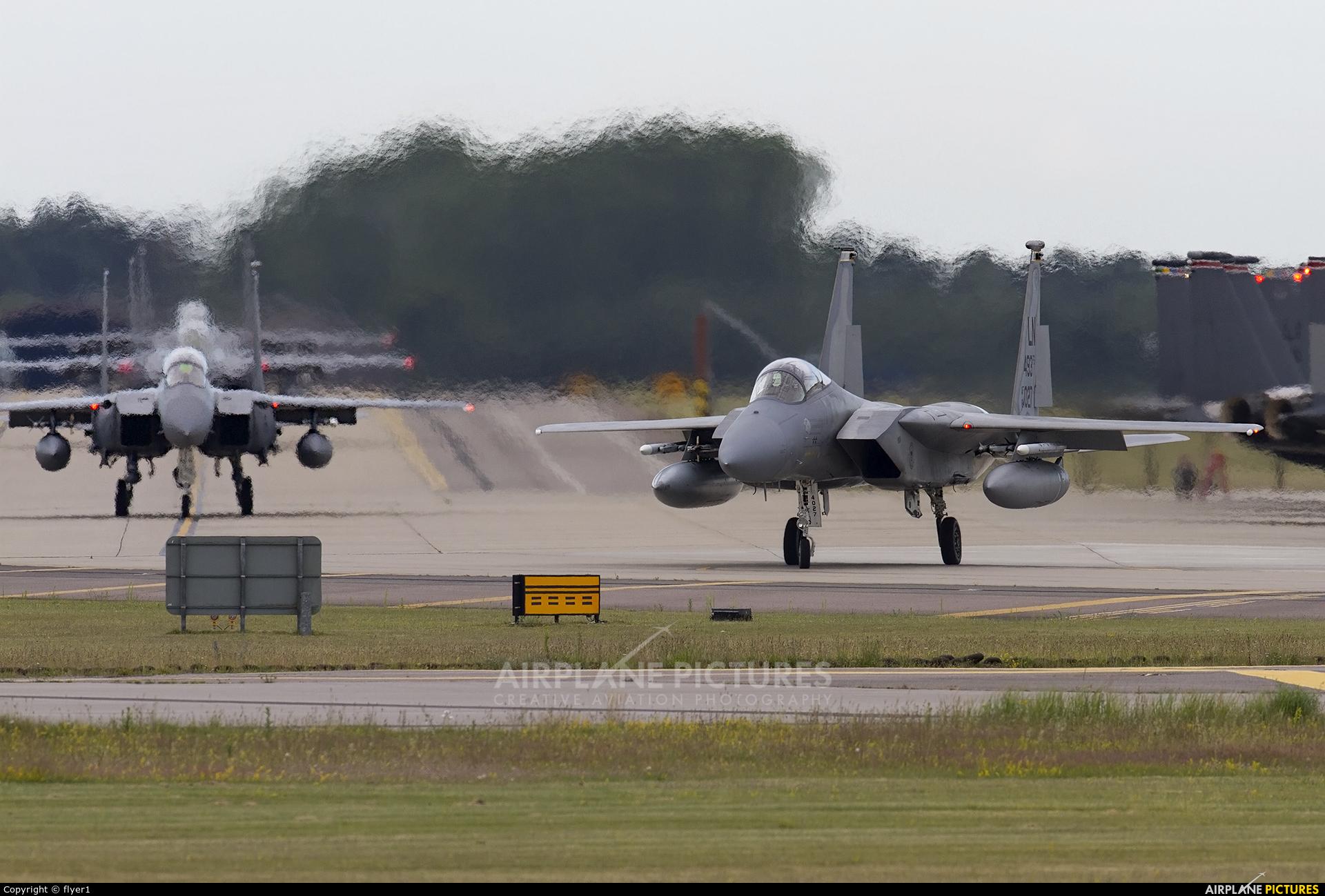 USA - Air Force 84-0027 aircraft at Lakenheath