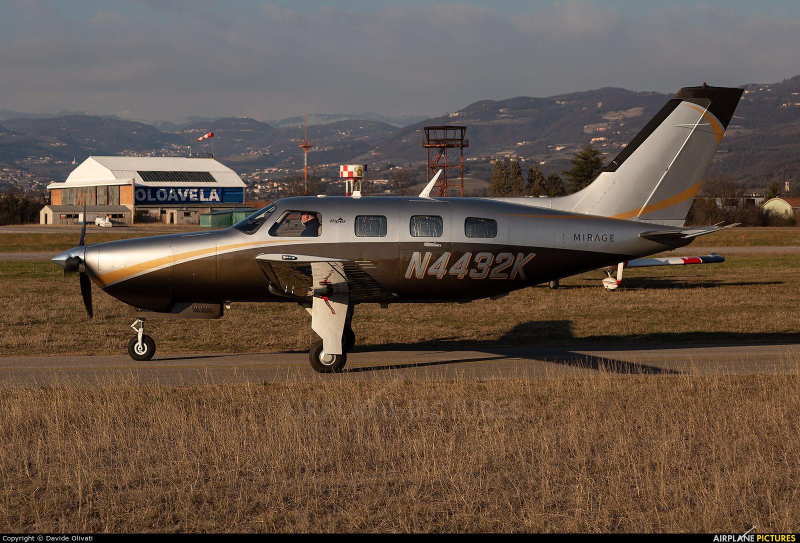 Private N4432K aircraft at Verona - Boscomantico