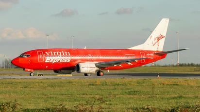 OO-VEG - Virgin Express Boeing 737-300